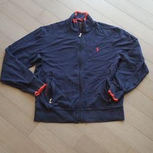 Polo performance zip up jacket, sz medium